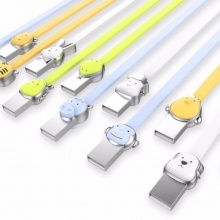 Cute Beastie Alloy USB Cable for iPhone